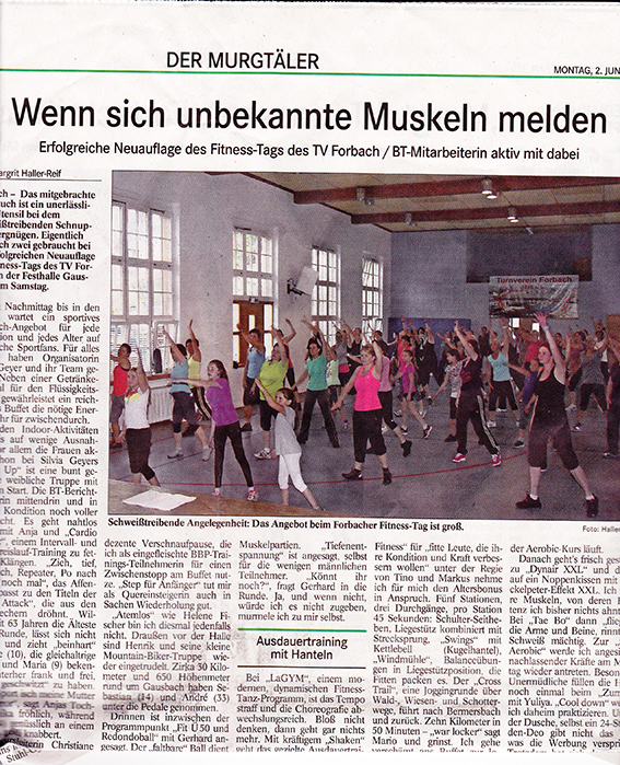 Fitnesstag 2014
